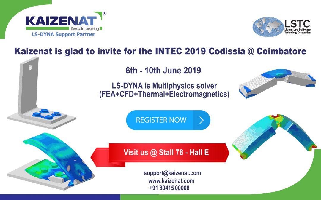 INTEC 2019 Codissia @ Coimbatore